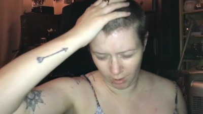 Shaved her Head Bald - Part 1