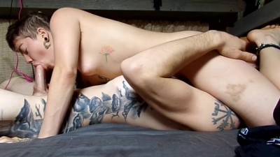 Hippie Girlfriend Fucks me Amazon Style