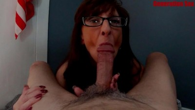 MILF Marie Blowjob keep Sucking Compilation