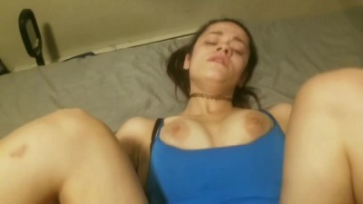 POV Walking in on Slutty Babe Roommate with my Cock Out.
