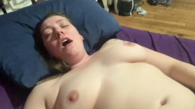 Chastity Slave makes me Squirt and Cleans up his Cum!