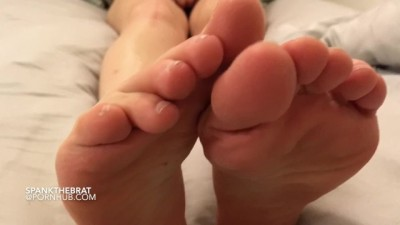 Stick out your Tongue and Clean my Sweaty Feet