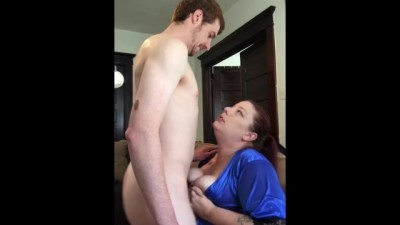 Morning Quickie Suck and Fuck Doggie on the Couch