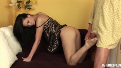 Horny Stepdaughter Gives Step Daddy A Footjob