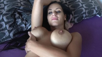 Horny Swapped Wife Gets Dildo into Wet Pussy