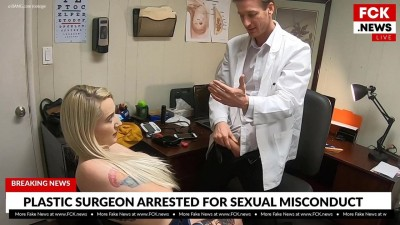 Plastic Surgeon Caught Fucking Tattooed Patient