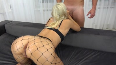 College young gets crazy from anal