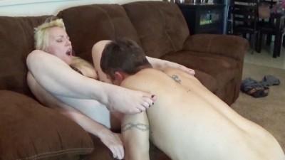 Making my hubby cum my ass