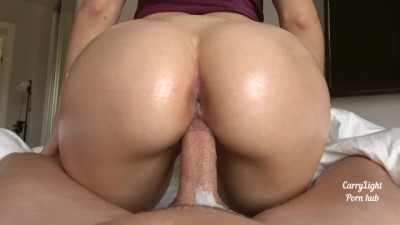 My Teen Step Sister gets Creampie and keeps riding