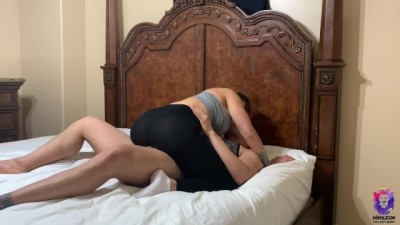 Big ass sexy yoga instructor gets fucked hard
