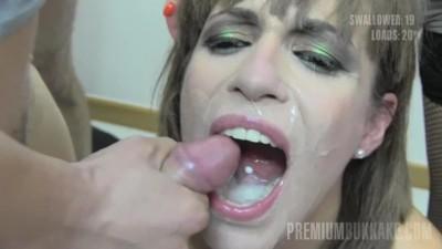 Premium Bukkake - GangBang Swallow Fetish