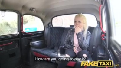 Fake Taxi - Shy blonde teen pays with his body