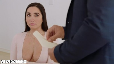 VIXEN - Hot Brunette Karlee Grey Fucks Her Boss