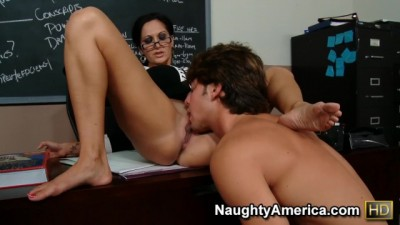Naughty America - Horny professor chick who fucks her student