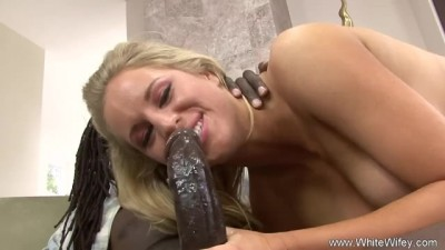 Big Tit Blonde Takes BBC I INTERRACIAL ANAL
