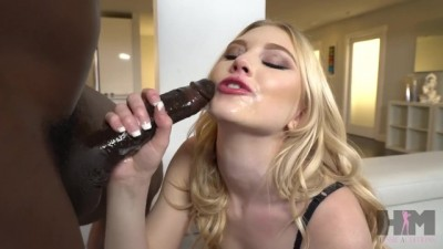 Blonde Babe Lily Rader's Loves Fuck with BBC