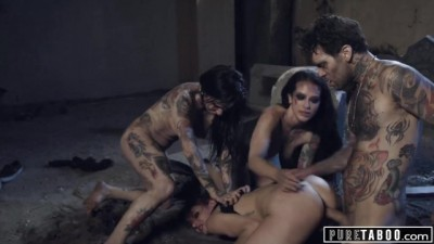 Zombies Katrina Jade & Joanna Angel Show No MERCY
