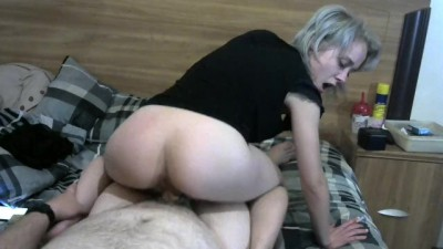 Blonde Milf Smoking and Riding