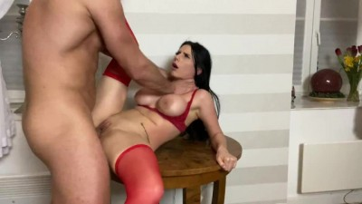 Brunette Latina Loves Hard Rough Sex
