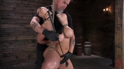 Angela White Explores Fetish Bondage