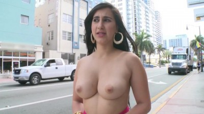 Curvy Sexy Latina Valerie Kay Showing Off Her Big Ass In Public