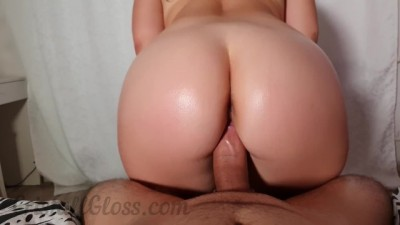 Curvy Babe Wife Loves to Ride Cock POV
