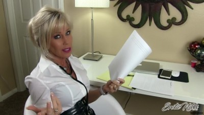 The School Nurse Examines Your Penis And Takes Semen Sample