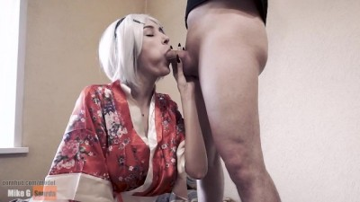 Whore Sucked Cock until she Cum in her Mouth !!!