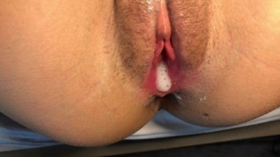 I Flooded her Tight Pussy with my Cum