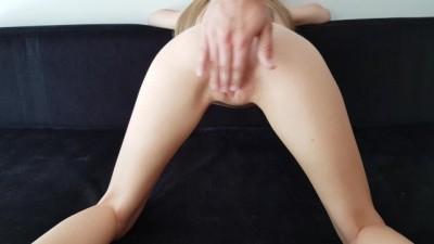 19yo Blonde Petite Boob, Ass & Pussy Massage