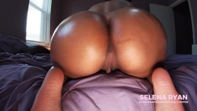 Bubble Butt Latina's Massive Oiled Ass