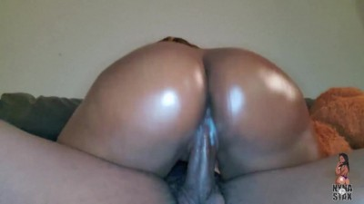 Big Black Ass Bouncing
