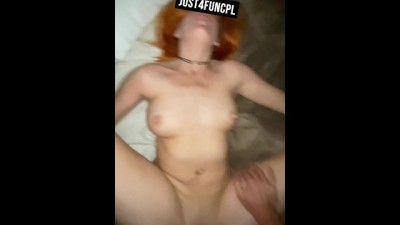 Red Haired MILF Gets what she want