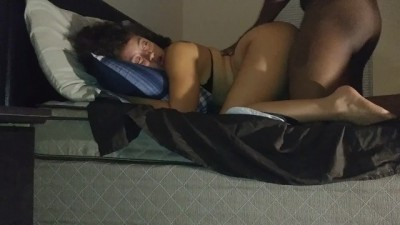 Redbone Dirty Talking Wife Sucks BBC and Gets Rammed