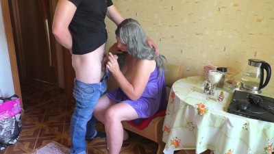 Mature Stepmother Gave her Son her Ass.