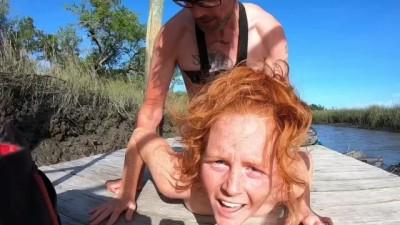 Redhead Public Sex