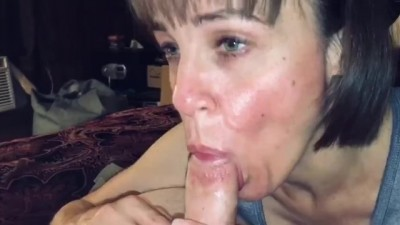 He Filled my Mouth and Throat Full of Cum!