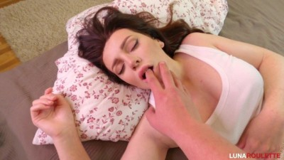Waking Up, she found a Cock in her Mouth.