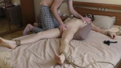 MILF Tied up Fucked and Swallow Cum